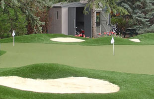 golf bunkers